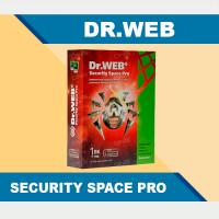Dr.Web Security Space Pro 1 год / 1 ПК