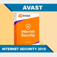 AVAST Internet Security 2018 - 2 ГОДА   1 ПК