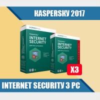Каspеrsку Intеrnеt Sесuritу 2017 3PC