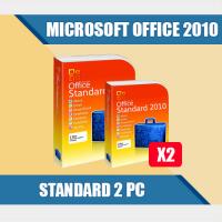 Microsoft Office 2010 Standard 2 пк