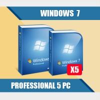 Windows 7 Professional 5PC