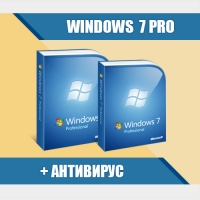 Windows 7 Professional (х64/х32) + Антивирус