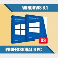 Windows 8.1 Professional 3PC